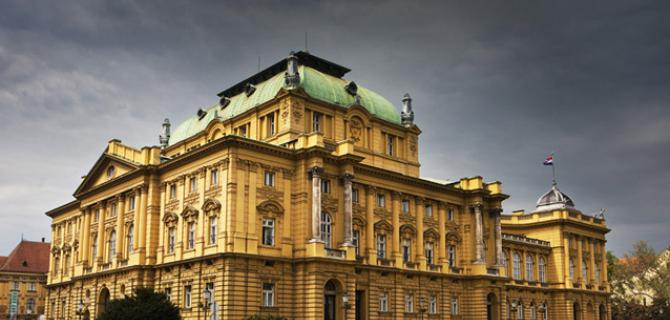 Croatian National Opera in Zagreb